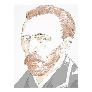 Von Gogh Letterhead