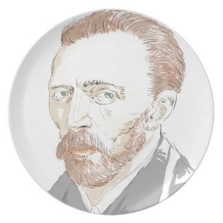 Von Gogh Plate