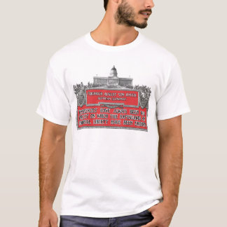 Von Hayek Quote:  Emergencies eroding Liberties T-Shirt
