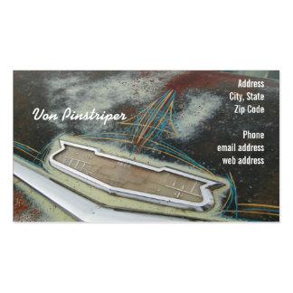 Von Pinstriper Carte De Visite Standard
