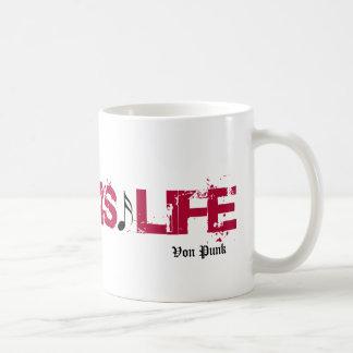 Von Punk mug. Classic White Coffee Mug