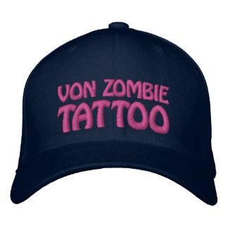 Von Zombie Tattoo 001BB Embroidered Hat