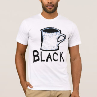 Vonnegut Coffee Cup Drawing T-Shirt