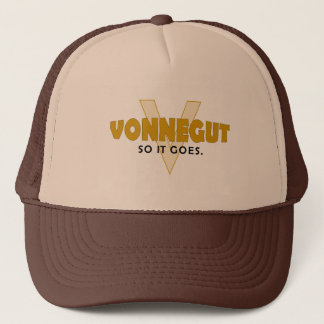 Vonnegut So It Goes Trucker Hat