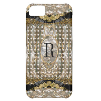 Vonrowes Oyster Monogram iPhone 5C Cover