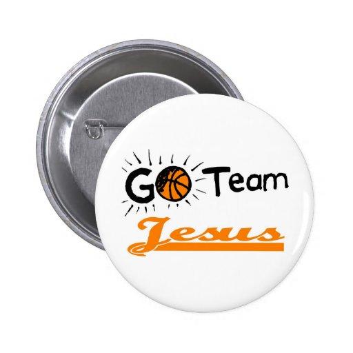 Vont le chrétien de Jésus d'équipe Pin's