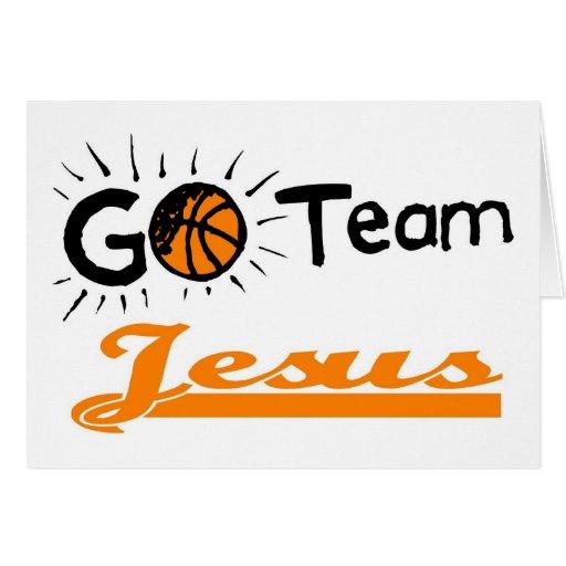 Vont le chrétien de Jésus d'équipe Carte