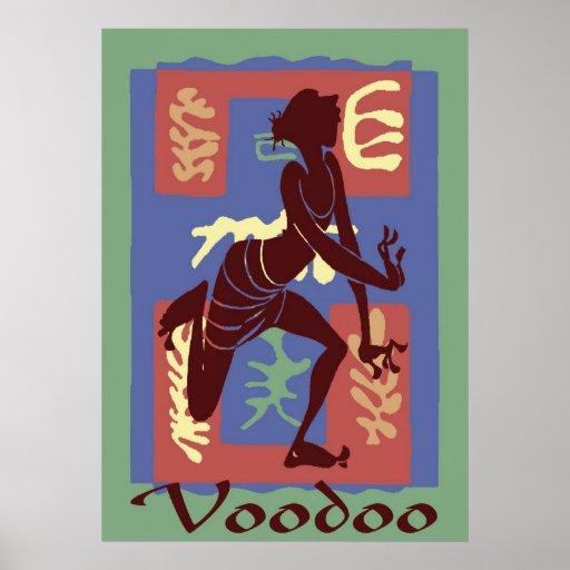 Voodoo Dancer After Matisse 2 Print