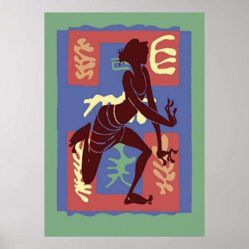 Voodoo Dancer After Matisse Posters