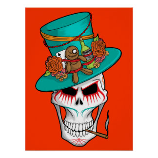 Voodoo Day of the Dead Poster