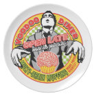 Voodoo Diner Melamine Plate