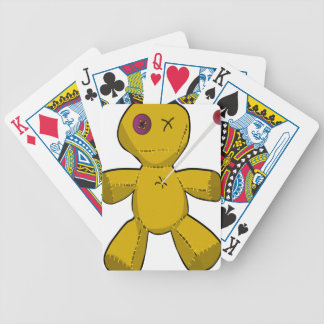 Voodoo Doll Bicycle Playing Cards