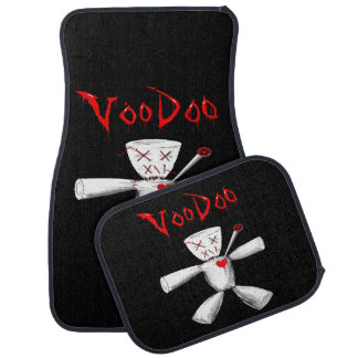VOODOO DOLL CAR MAT