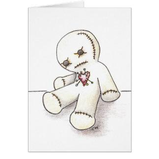'Voodoo Doll' Card