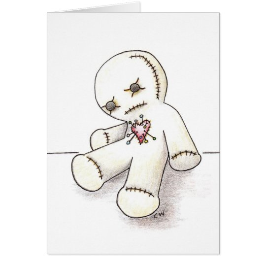 'Voodoo Doll' Card