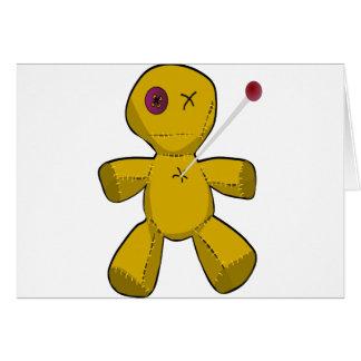 Voodoo Doll Card