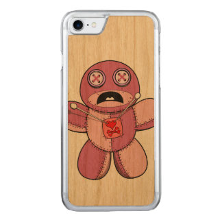 Voodoo Doll Carved iPhone 8/7 Case