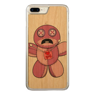 Voodoo Doll Carved iPhone 8 Plus/7 Plus Case