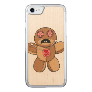 Voodoo Doll Illustration Carved iPhone 8/7 Case