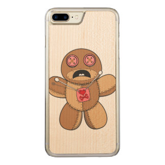 Voodoo Doll Illustration Carved iPhone 8 Plus/7 Plus Case