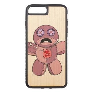 Voodoo Doll Illustration Carved iPhone 8 Plus/7 Plus Case