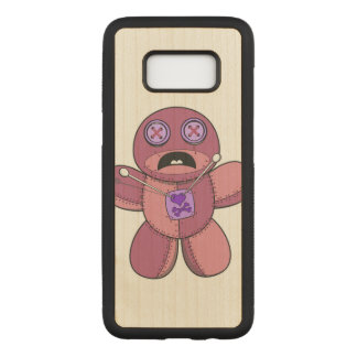 Voodoo Doll Illustration Carved Samsung Galaxy S8 Case