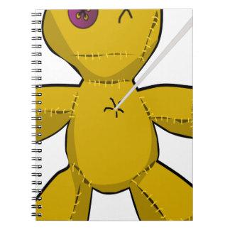 Voodoo Doll Notebook