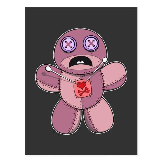 Voodoo Doll Postcard
