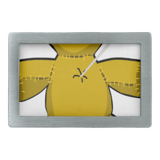 Voodoo Doll Rectangular Belt Buckle