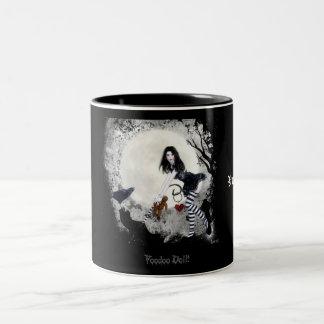 VooDoo Doll Two-Tone Coffee Mug