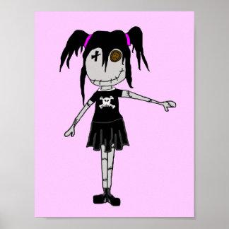 "VooDoo Dollies ""Felicity Bliss"" Poster"