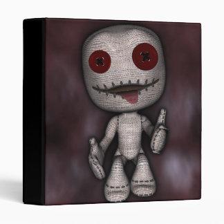 Voodoo Dolly Vinyl Binders