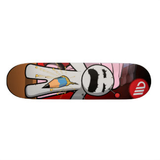 Voodoo dying dolls series - Pierced! Skateboard