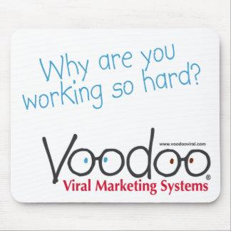 "Voodoo ""Hard-Working"" Mousepad"