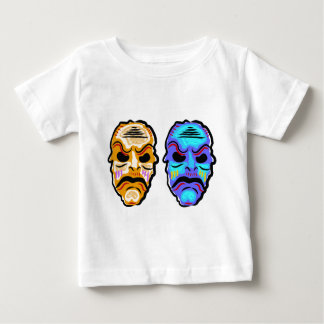 Voodoo Mask Sketch Baby T-Shirt