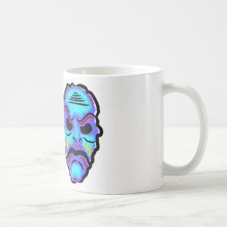 Voodoo Mask Sketch Coffee Mug