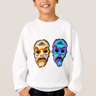 Voodoo Mask Sketch Sweatshirt