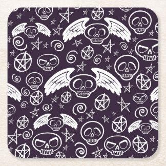 """Voodoo"" Pattern Square Paper Coaster"