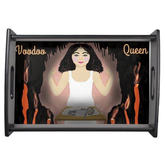 Voodoo Queen Service Tray