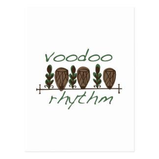Voodoo Rhythm Postcard