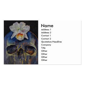 Voodoo Skull Business Cards