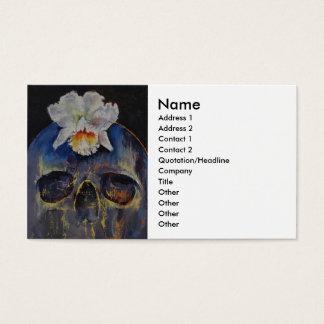 Voodoo Skull Business Card