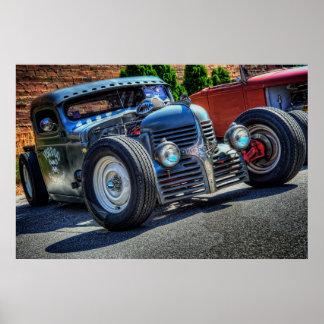 Voodoo Speed & Kustoms Dodge Poster