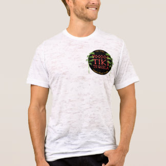 Voodoo Tiki Tequila Johnny Tiki Jersey Burnout T-Shirt