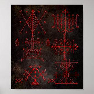 Voodoo Veves Print