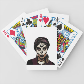 Voodoo  witch bicycle playing cards