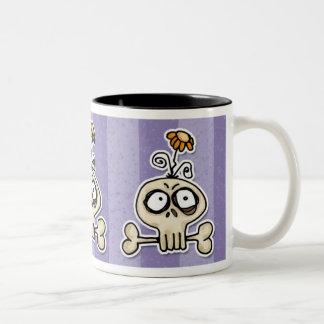 voodoodle - bloomsbury Two-Tone coffee mug
