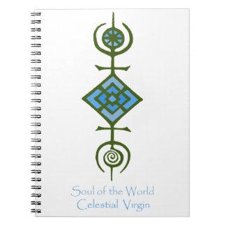 VooDou Soul of the World - Celestial Virgin Notebooks