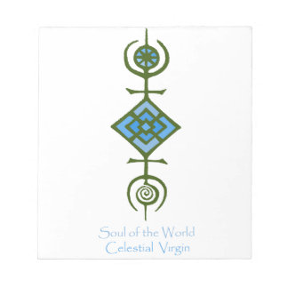 VooDou Soul of the World - Celestial Virgin Notepads