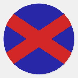 Voortrekker, Somalia Round Sticker